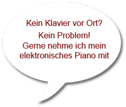 elektronisches Piano